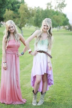 Super cute Stagecoach fashion #iamstageocach #boots #country #stagecoach #sundress