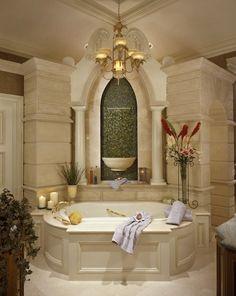 Luxury Bathroom • Tub