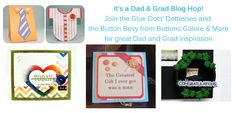 #FathersDay #graduation inspiration from two great Design Teams! #GiftsforGuys #GlueDots
