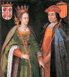 Petronilla of Aragón and Ramon Berenguer IV, Count of Barcelona, dynastic union of the Crown of Aragón (Wikipedia).