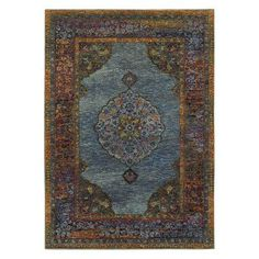 Oriental Weavers Andorra 7139A Indoor Area Rug - A7139A200300ST, Durable