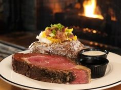 Firebirds Wood Fired Grill   Herb Roasted Prime Rib