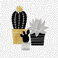Lunch Servietten Cactus