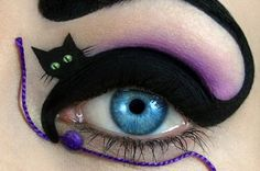 Funny pictures about Awesome eye make up. Oh, and cool pics about Awesome eye make up. Also, Awesome eye make up. Crazy Eye Makeup, Creative Eye Makeup, Eye Makeup Art, Eye Art, Eyeshadow Makeup, Makeup Artistry, Beauty Makeup, Dramatic Eyeshadow, Hair Makeup