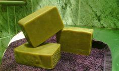 básico jabón: Arcilla verde