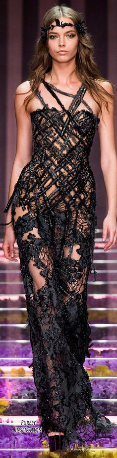 Atelier Versace Fall 2015 Haute Couture | Purely Inspiration