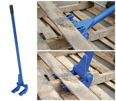 This tool will save you at least 30% of your time when dismantling pallets!