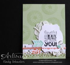 Petal Parade card by Cindy Schuster