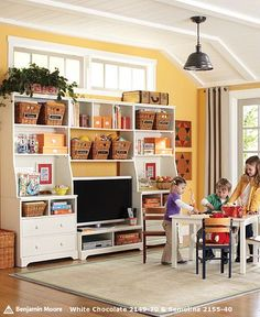 I'm thinking craft room...great design for storage!  Warning...it's a google image, so just saving the idea for the design.