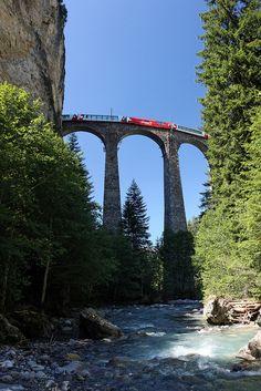 Landwasserviadukt,Switzerland