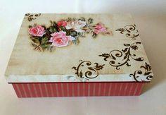 Caja decorada