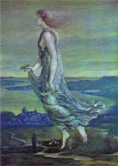 Hesperus. The Evening Star - Edward Burne-Jones