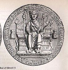 Edward II (1284 - 1327). Son of King Edward I and Queen Eleanor of Castile. He married Isabella of France and had four children.