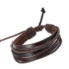 Simple Original Leather Bracelet