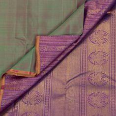 Kanakavalli Handwoven Kanjivaram Silk Sari 1008042 - Sari / Bridal - Parisera
