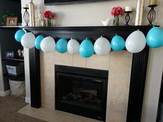 DIY Frozen Birthday Party - Could put favors inside of balloons and have kids pop a balloon.