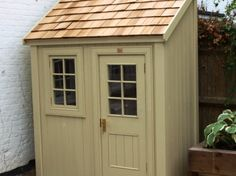 Bespoke half shed