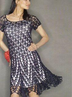Free pattern - crochet dress!