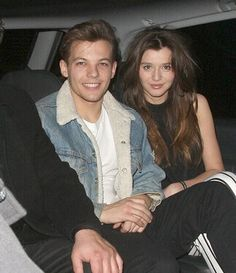 :) Louis and Eleanor leaving the Brits after-party last night! Feb. 20/21, 2013. <3