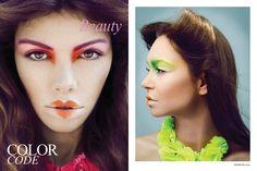 Make-up idea for creative shots