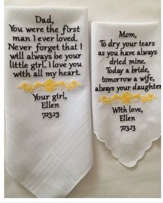 Napkins for parents