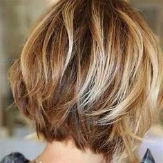 25+ best ideas about Layered Bob Haircuts on Pinterest | Wavy bob hairstyles, Wavy bob hair and ...