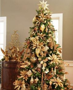 Image detail for -Beautiful ideas for Christmas tree decorating | Minimal Trends ...