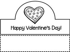 ❤ Valentine's Day Crowns ❤ by Joyful Explorations Printable Preschool Worksheets, Free Printables, Valentine Day Crafts, Happy Valentines Day, Happy Children's Day, Child Day, Joyful, Crowns, Professor