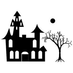 Haunted House Halloween Craft Rubber Stamp *** See this great product.