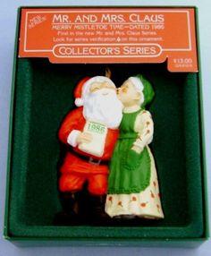 1986 Merry Mistletoe Time Hallmark Retired by ShoppingJustForYou