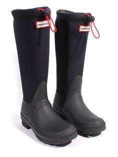 "Hunter Boots - Kalosze ""Original Tour"" w kolorze czarnym"