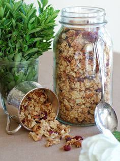Cranberry nut granola from The Prudent Homemaker.