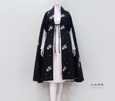 Edgy Outfits, Cosplay Outfits, Pretty Outfits, Pretty Dresses, Cute Outfits, Set Fashion, Lolita Fashion, Fashion Dresses, Fashion Design