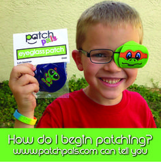 Did you just find out that you or your child needs to wear an eye patch? Here are some tips to get you started at www.patchpals.com