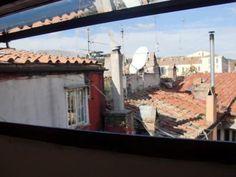 Apartments in Rome - view trough window - Via della Scala, Trastevere