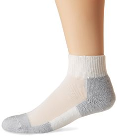 Men's - Women's Running Thick Padded Ankle Socks -- You can get more details here : Plus size Activewear