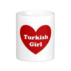 Turkey girl coffee mug