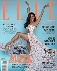 Misty Copeland is the November 2017 cover star of Elle South Africa's 'Body Issue' and it is definitely fitting for the ballet star. Misty Copeland, Black Dancers, Ballet Dancers, Ballet Moves, Black Ballerina, American Ballet Theatre, Body Issues, My Black Is Beautiful, Ballet Beautiful