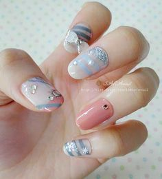 47 Best Nails Korean Images On Pinterest Korean Nails Korean