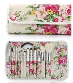 12 Piece Traditional Brush Set – My Make Up Brush Set My Makeup Brush Set, Best Makeup Brushes, Eye Brushes, Best Makeup Products, Makeup Tools, Concealer Brush, Eyeliner Brush, Lip Brush, Professional Makeup Kit