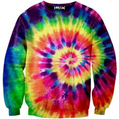 ☮♡ Tie Dye Sweater ✞☆ (sexy sweaters)