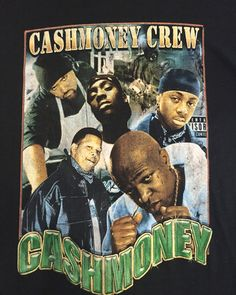 Vintage 90's Rap T-Shirt - CASH MONEY