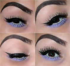 Touch Of  Purple Makeup Look