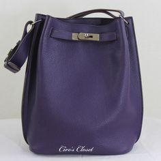 Hermes Bags, Occasion Wear, Birkin, Bucket Bag, Royal Blue, Bag Accessories, Leather Bag, Saint Laurent, Zapatos