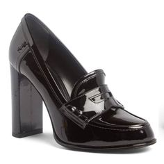 Dressy Shoes, Cute Shoes, Me Too Shoes, Casual Shoes, High Heel Loafers, Loafer Shoes, High Heels, Grey Loafers, Open Toe Shoes