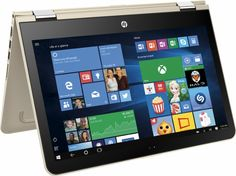 """HP - Pavilion x360 2-in-1 13.3"""" Touch-Screen Laptop - Intel Core i5 - 8GB Memory - 128GB Solid State Drive - Gold - AlternateView11 Zoom"""