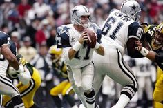 '1994: Faced with injuries to Troy Aikman and Rodney Peete, the @[99559607813:274:Dallas Cowboys] had to rely on a third-string QB named Jason Garrett in their Thanksgiving showdown against the Green Bay Packers. Garrett had a rough first half, but was able to get it together and lead the Cowboys to a 42-31 victory.'