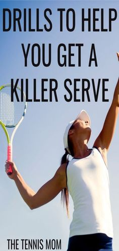 Improve your serve by using these drills at tennis practice.  Get a more accurate serve which will help you win more tennis matches. Tennis Games, Tennis Gear, Tennis Tips, Sport Tennis, Tennis Clothes, Nike Clothes, Tennis Outfits, Tennis Serve, Tennis Match