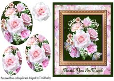 A very pretty card front that is so easy to make, this one has get well soon on the front. Having a beautiful flower arrangement in a easy pyramid design, can be used foor many occasions. Beautiful Flower Arrangements, Floral Arrangements, Beautiful Flowers, Sympathy Cards, Greeting Cards, Birthday Drinks, Birthday Cards, Purple Birthday, How To Make Ribbon