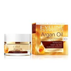 EVELINE ARGAN OIL Multiactive Night Cream EARLY SIGNS OF AGE30+ FREE UK SHIPPING
